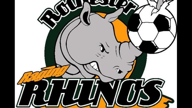 Rhinos Score Early, Then Get Pounded