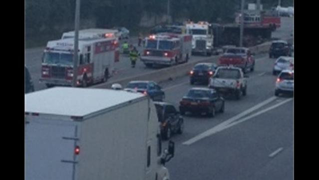 Crash on 490 In Rochester