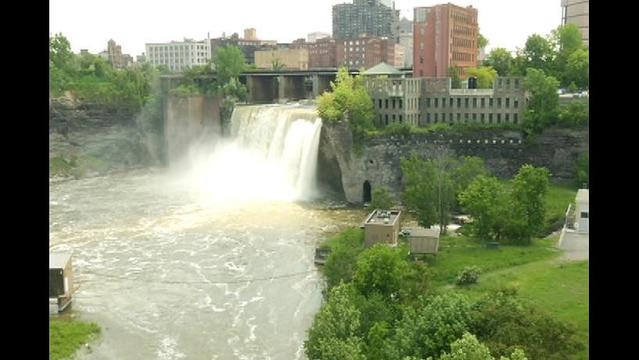 High Falls Project Breaks Ground