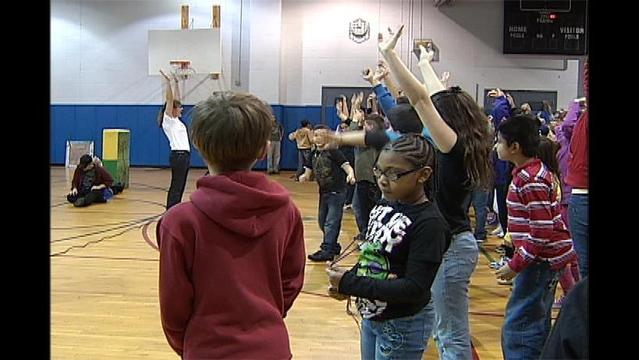 Fit Families: Theatre inspires students