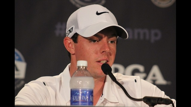 Rory McIlroy and Justin Rose Address the Media