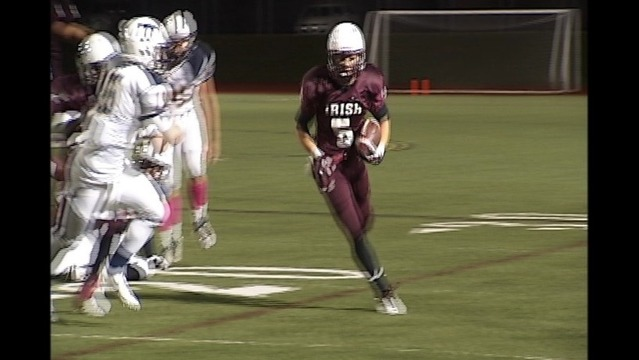 Aquinas Cruise in Playoff Opener