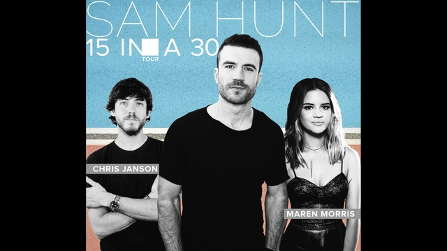 Sam Hunt coming to CMAC in July