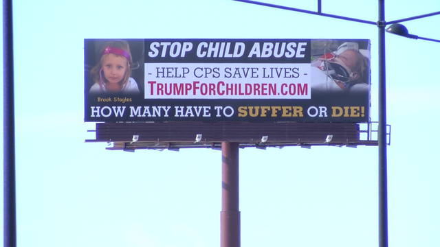 Grandfather of slain child puts up billboards pushing for changes to CPS