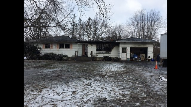 2 dead following house fire in suburban Rochester