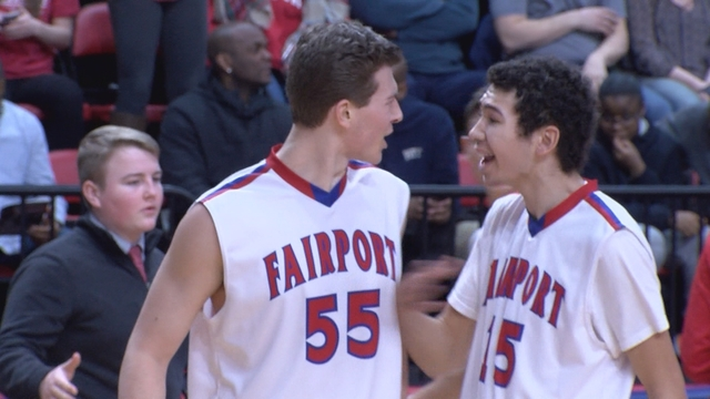 Red hot Keeley paces Fairport's state semi win