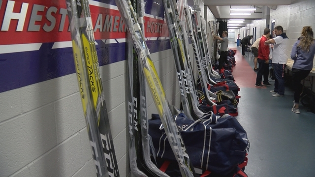 Amerks clean out their lockers after a dissapointing season