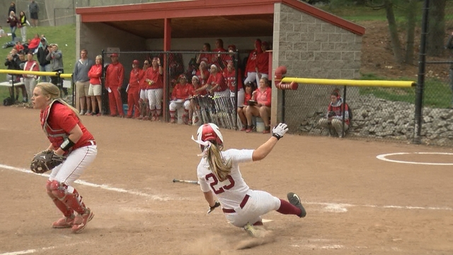 Cardinals blank Red Dragons to open Super Regionals