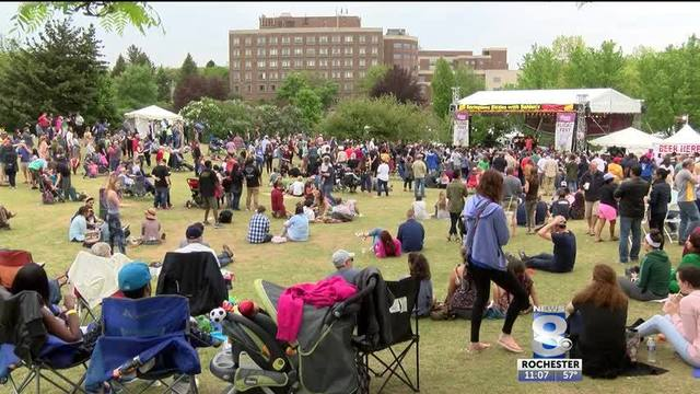 No Rusted Root at Lilac Festival this year