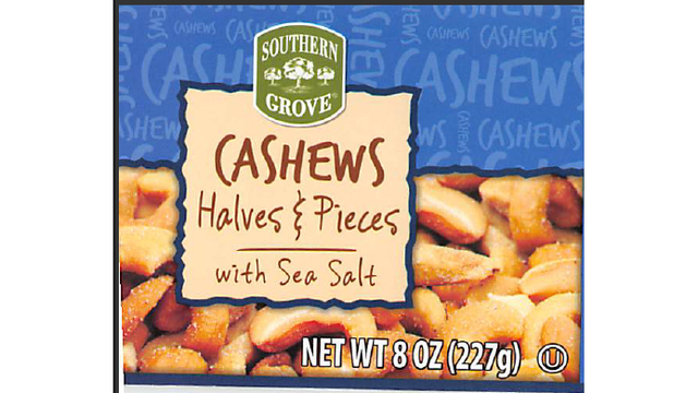 Cashews Recalled After Glass Found in Canisters