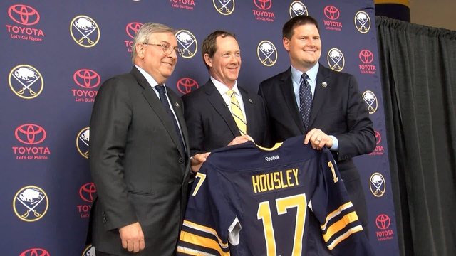 Sabres hire Phil Housley as head coach