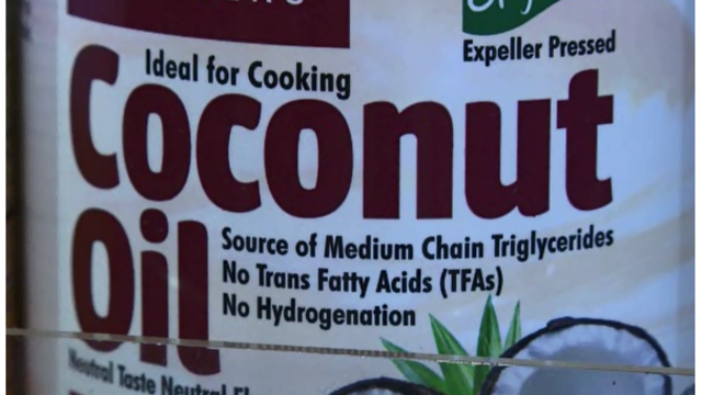 Study finds coconut oil may not be healthy