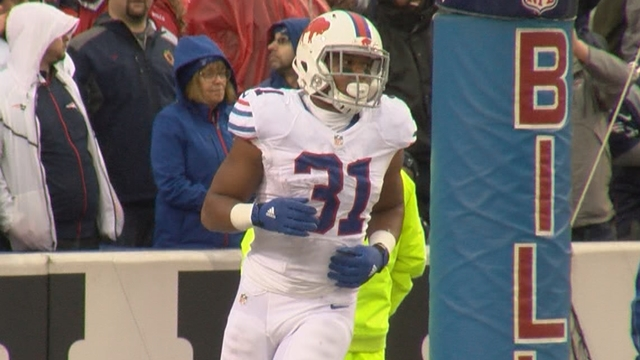 Ex-Bills running back Karlos Williams reportedly suspended at least one year