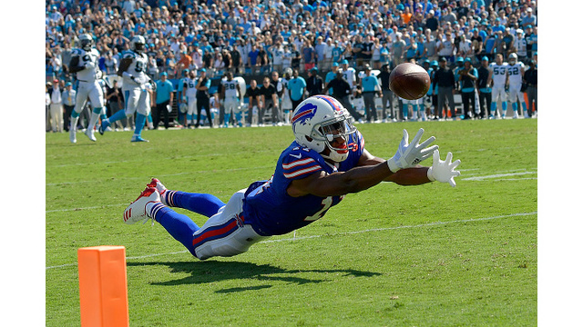 Bills offense struggles in loss to Panthers