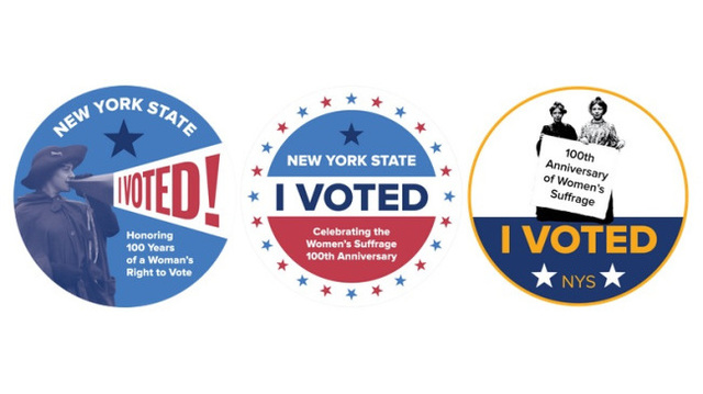 Help pick New York's new 'I Voted' sticker for Election Day
