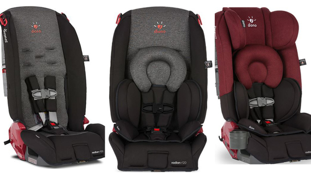 Diono recalls a half million child car seats