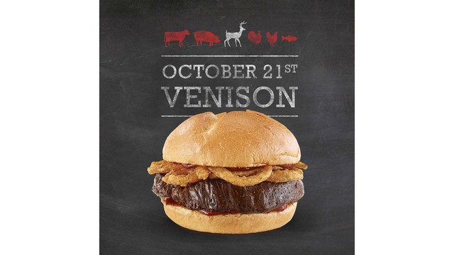 Arby's venison sandwich is coming to restaurants in Rochester