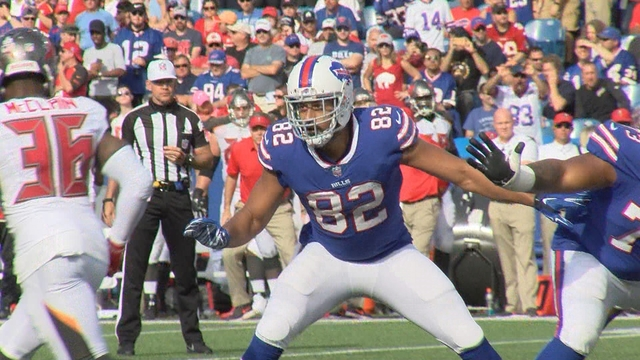 Bills tight end Logan Thomas announces death of newborn daughter