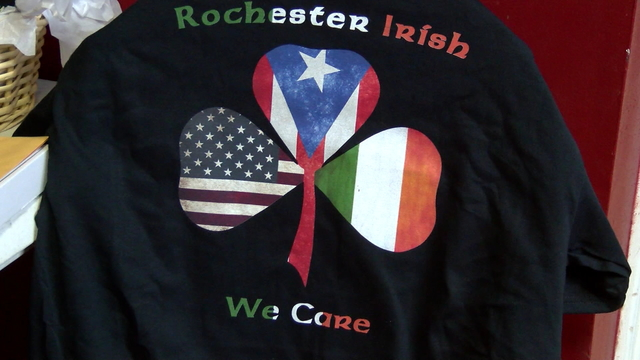 Local Irish community holds hurricane fundraiser for Puerto Rico