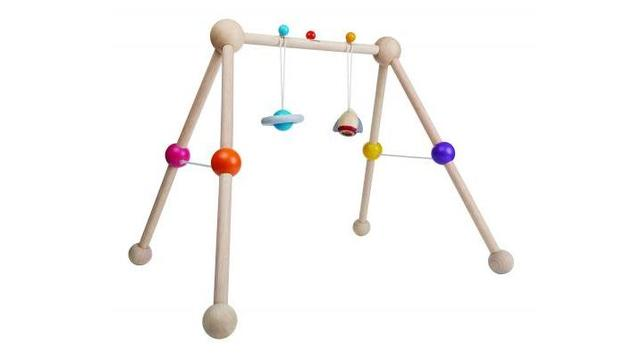 PlanToys recalls baby gym due to strangulation hazard