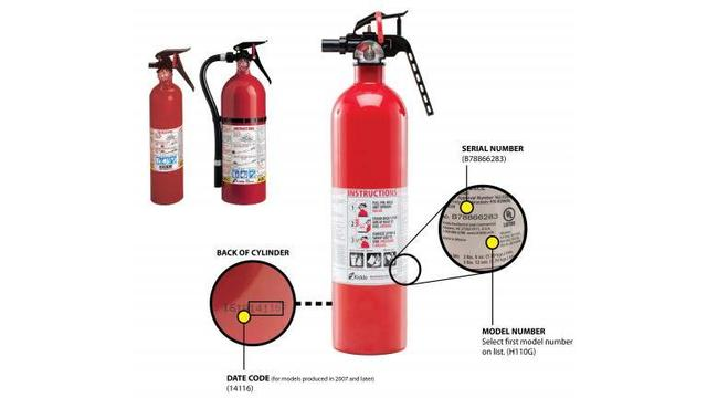 Massive government recall covers 37.8 million fire extinguishers