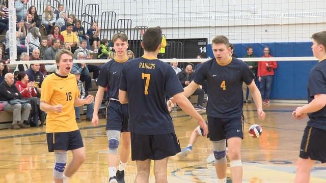 Spencerport rallies to volleyball title