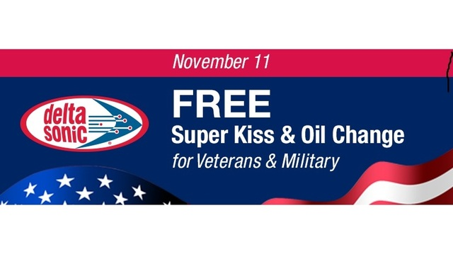 Delta Sonic honors Veterans with free car washes and oil changes
