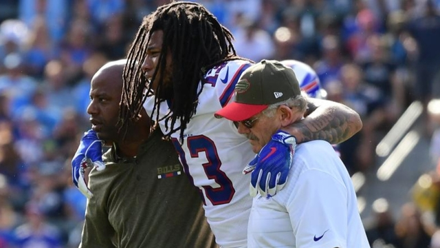 Bills WR Kelvin Benjamin has torn meniscus in knee