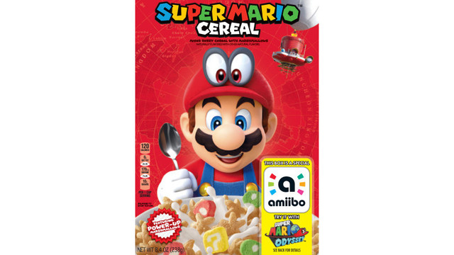 Super Mario Cereal coming to store shelves