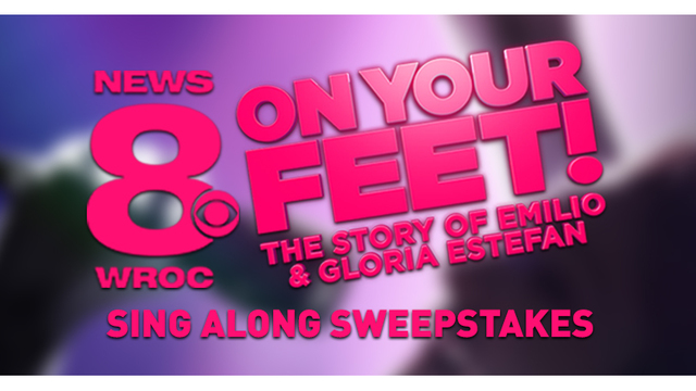 ENDED - ON YOUR FEET! SING ALONG SWEEPSTAKES