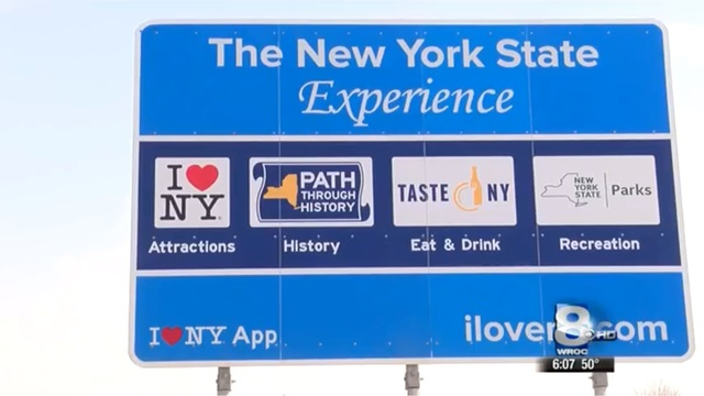 Feds withhold $14M from state over 'I Love NY' signs