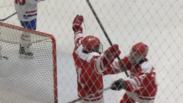 Stuewe's OT winner gives Penfield their 2nd straight D1 title