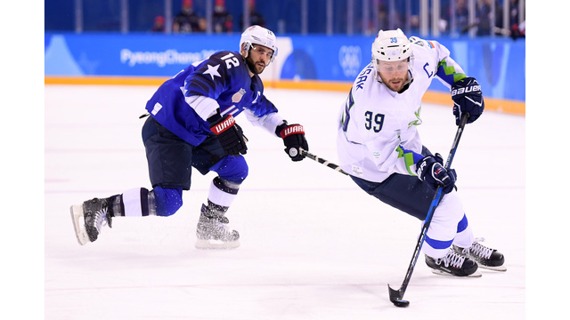 United States Hockey Team Allows Slovenians to Believe in Miracles