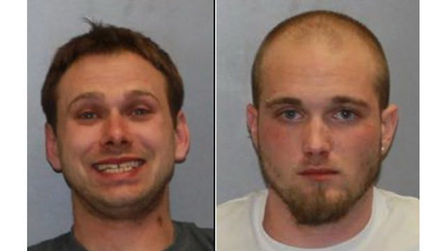 Two men charged with robbery, assault of homeowner