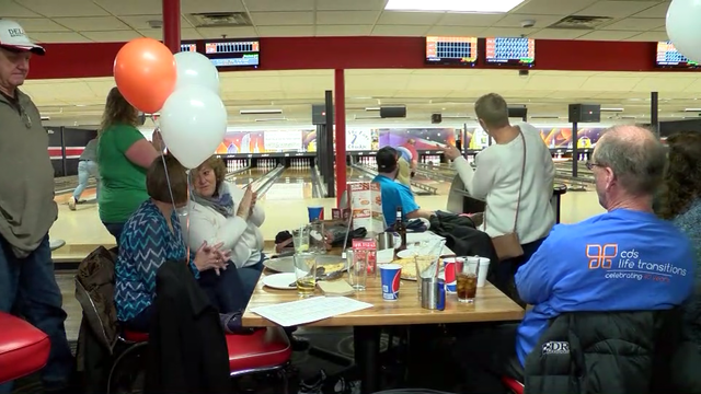 CDS' Strikes for Abilities bowling party