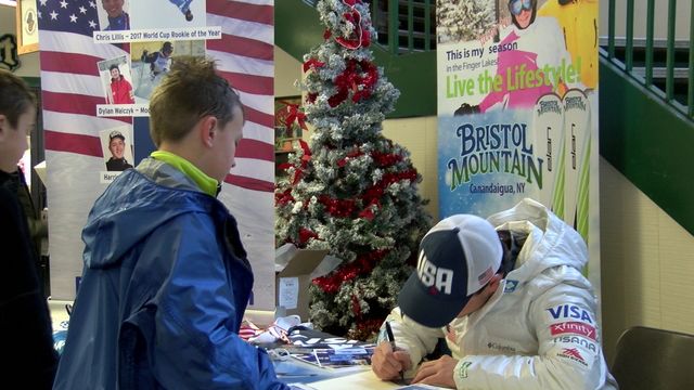 Us ski and snowboard freestyle team member has meet and greet at us ski and snowboard freestyle team member has meet and greet at bristol mountain m4hsunfo