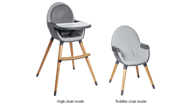 Recall issued for Tuo convertible high chairs