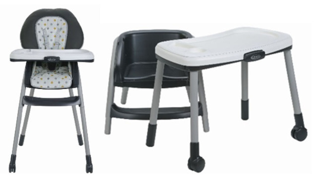 Graco recalls highchairs due to fall hazard
