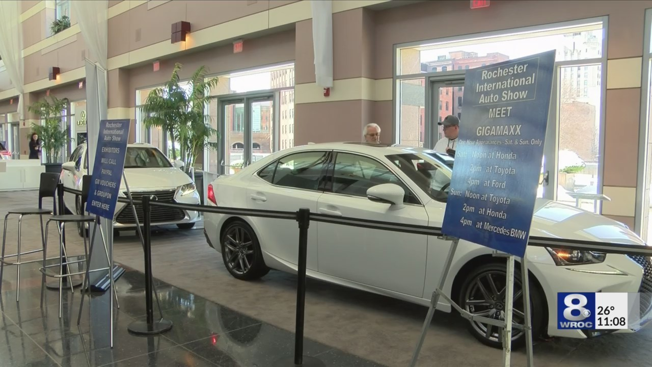 Rochester Auto Show Wraps Up In Rochester - Rochester car show