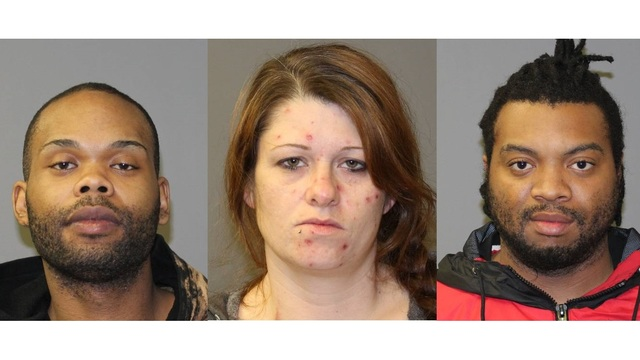 Three face charges in Gates home invasion, shooting