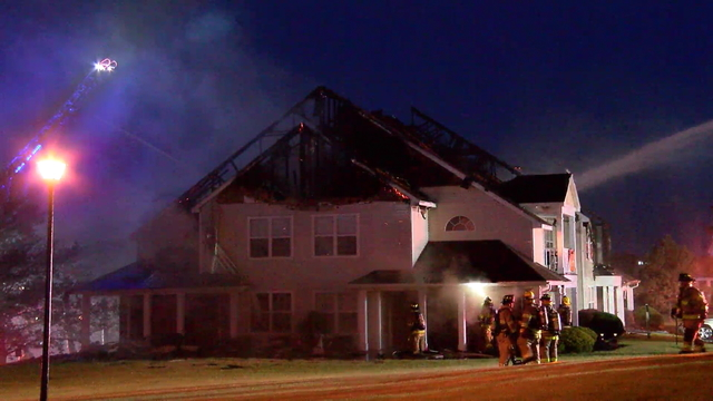 20 people displaced after Henrietta apartment fire