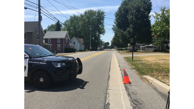Ridge Rd. re-opened after investigation; device believed to be homemade firework removed