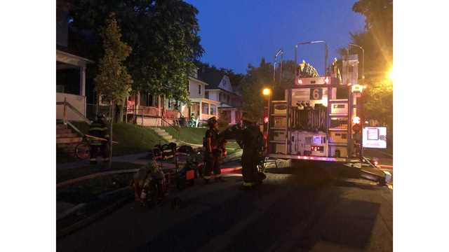 Two cats dead after duplex fire on Melville Street