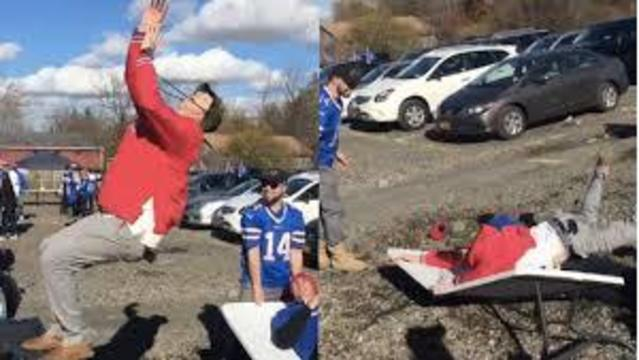 Erie Co. Sheriff: No table slamming at Bills game this weekend