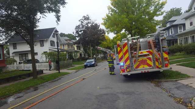 Firefighters respond to house fire on Raeburn Avenue