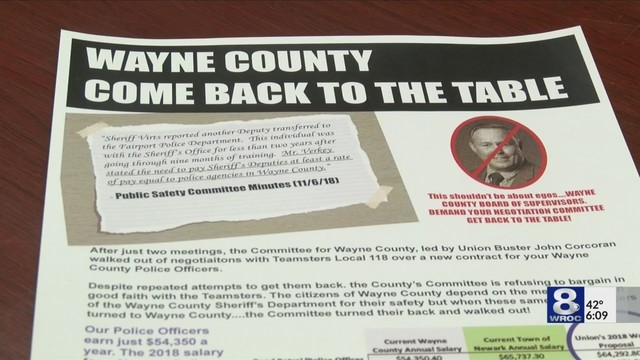 Negotiatons stall for new contract with Wayne County Deputies
