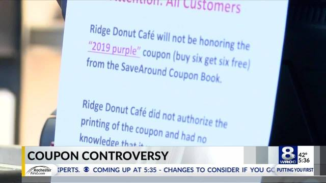 local donut business makes amends amid coupon controversy