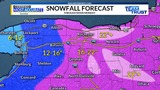 Snowy Sunday - A look at the snow and cold so far
