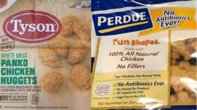 26 tons of Tyson, Perdue chicken nuggets recalled