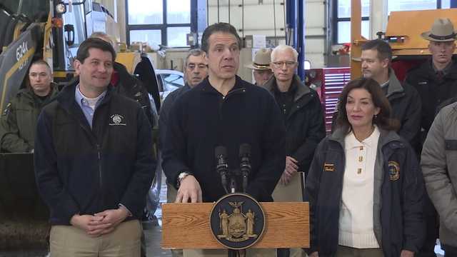 Gov. Cuomo: Truckers who violate Thruway ban will face criminal charges, loss of license